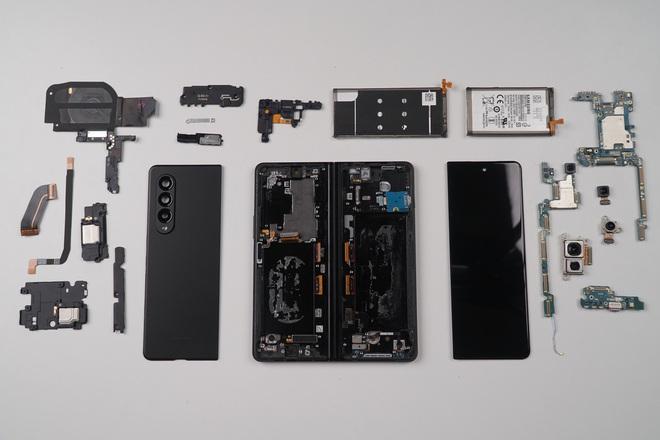 Galaxy Z Fold3 lần đầu được mổ bụng tại Việt Nam, hé lộ bí mật của camera ẩn dưới màn hình - Ảnh 20.