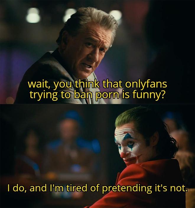 Tất cả Meme châm biếm hay nhất vụ OnlyFans cấm nội dung 18+ đều ở đây! - Ảnh 10.