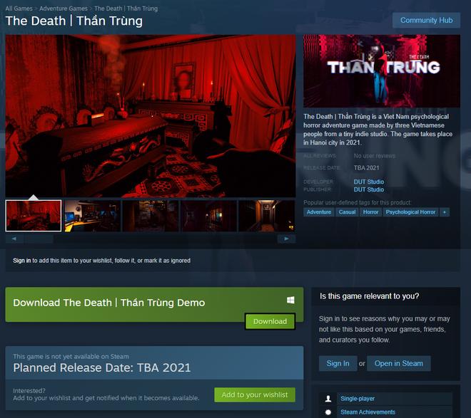 Game Thần Trùng chính thức có mặt trên Steam, kèm cả demo để game thủ Việt chơi thử - Ảnh 1.