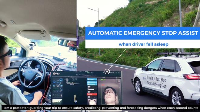 VinAI công bố loạt công nghệ mới dành cho ô tô, dự kiến có mặt trên các dòng xe VinFast tương lai: Tự lái cấp độ 2+, phát hiện tài xế ngủ gật, đỗ xe tự động - Ảnh 1.