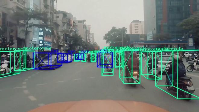 Đây là giao thông Việt Nam dưới con mắt của AI, đang được ứng dụng để phát triển tính năng tự lái trên xe VinFast - Ảnh 7.