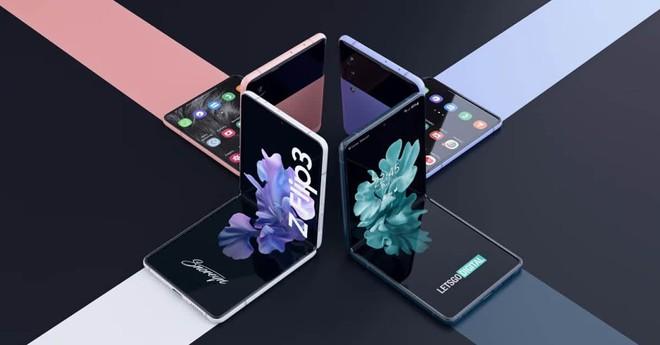Tổng hợp những tin đồn về Samsung Galaxy Z Flip 3 trước ngày ra mắt - cực phẩm không kém cạnh Z Fold 3 - Ảnh 1.