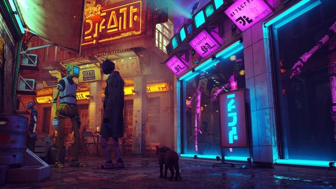Giới thiệu game Stray: người chơi vào vai một chú mèo, phiêu lưu trong một thành phố robot bị lãng quên - Ảnh 4.