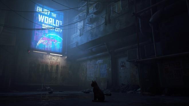 Giới thiệu game Stray: người chơi vào vai một chú mèo, phiêu lưu trong một thành phố robot bị lãng quên - Ảnh 6.