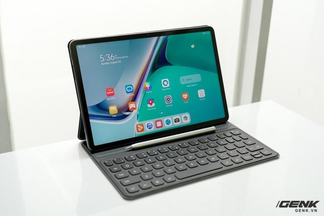 Trên tay máy tính bảng Huawei MatePad 11: Màn hình IPS 120Hz, dùng chip Snapdragon 865, hệ điều hành Harmony OS 2 rất mượt, giá 13.99 triệu đồng - Ảnh 16.