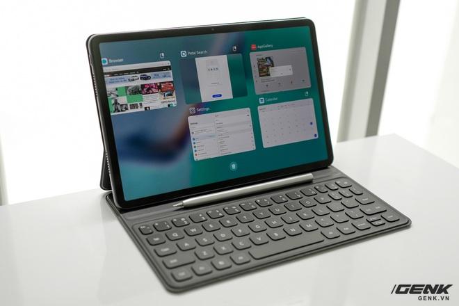 Trên tay máy tính bảng Huawei MatePad 11: Màn hình IPS 120Hz, dùng chip Snapdragon 865, hệ điều hành Harmony OS 2 rất mượt, giá 13.99 triệu đồng - Ảnh 14.