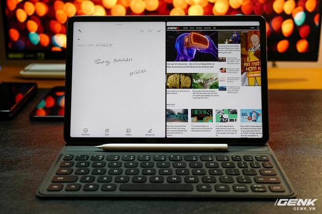 Trên tay máy tính bảng Huawei MatePad 11: Màn hình IPS 120Hz, dùng chip Snapdragon 865, hệ điều hành Harmony OS 2 rất mượt, giá 13.99 triệu đồng - Ảnh 15.