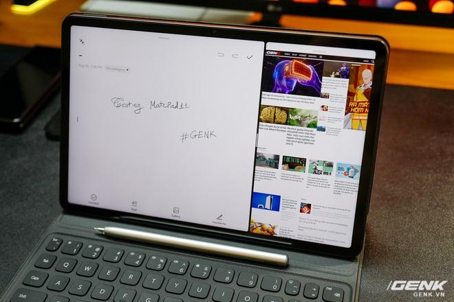 Trên tay máy tính bảng Huawei MatePad 11: Màn hình IPS 120Hz, dùng chip Snapdragon 865, hệ điều hành Harmony OS 2 rất mượt, giá 13.99 triệu đồng - Ảnh 12.
