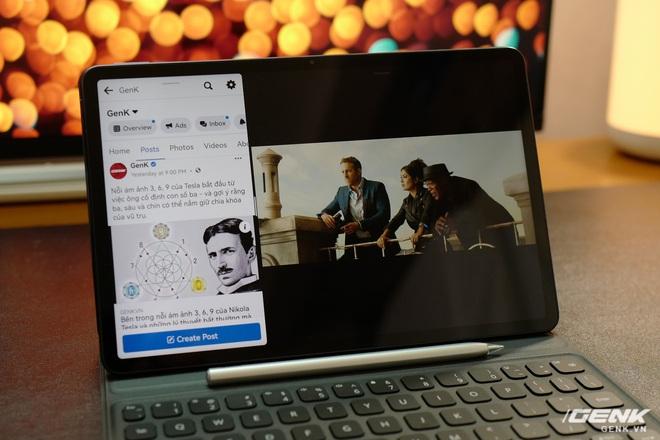 Trên tay máy tính bảng Huawei MatePad 11: Màn hình IPS 120Hz, dùng chip Snapdragon 865, hệ điều hành Harmony OS 2 rất mượt, giá 13.99 triệu đồng - Ảnh 13.