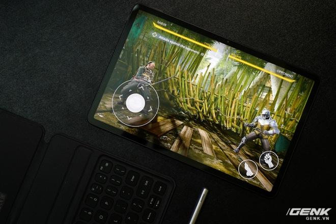 Trên tay máy tính bảng Huawei MatePad 11: Màn hình IPS 120Hz, dùng chip Snapdragon 865, hệ điều hành Harmony OS 2 rất mượt, giá 13.99 triệu đồng - Ảnh 6.