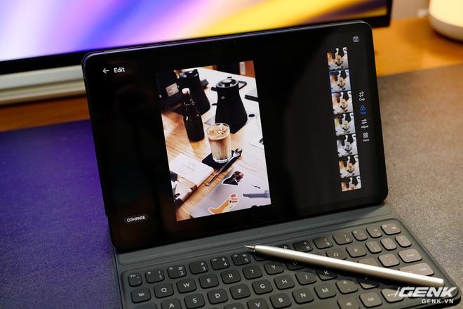 Trên tay máy tính bảng Huawei MatePad 11: Màn hình IPS 120Hz, dùng chip Snapdragon 865, hệ điều hành Harmony OS 2 rất mượt, giá 13.99 triệu đồng - Ảnh 7.