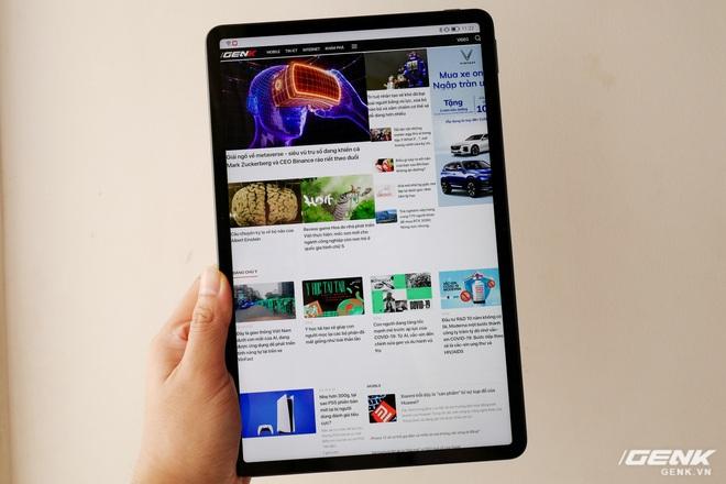 Trên tay máy tính bảng Huawei MatePad 11: Màn hình IPS 120Hz, dùng chip Snapdragon 865, hệ điều hành Harmony OS 2 rất mượt, giá 13.99 triệu đồng - Ảnh 4.