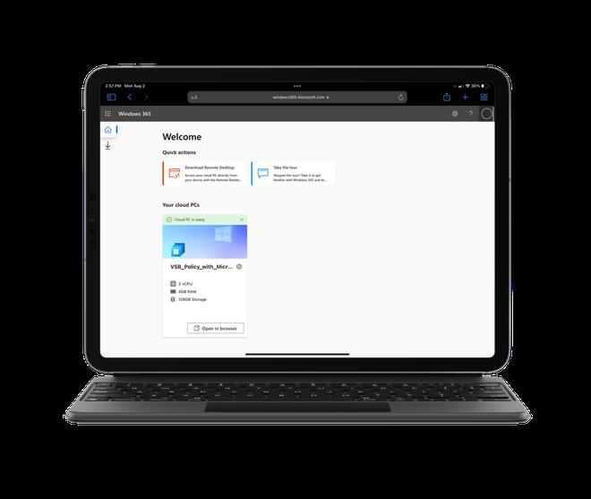 Sự khác biệt giữa Windows và Mac, iPad giờ chỉ còn là vài cú click trên đám mây - Ảnh 2.