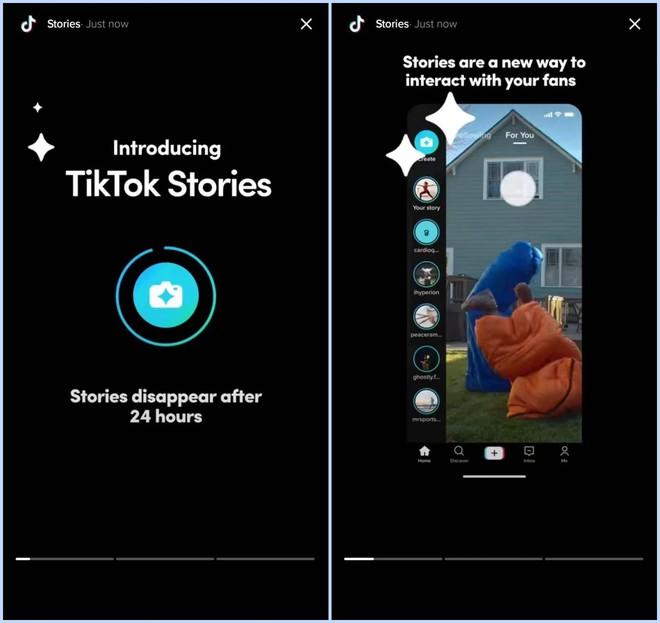 TikTok thử nghiệm tính năng Stories - Ảnh 1.
