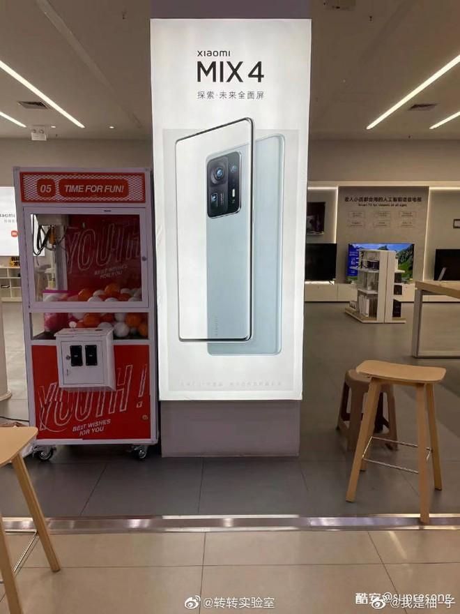 Xiaomi Mi MIX 4 lộ ảnh quảng cáo, tiết lộ thiết kế camera giống Mi 11 Pro - Ảnh 1.