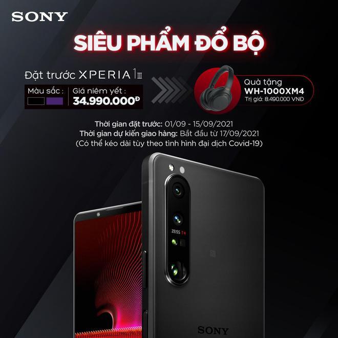 Sony Xperia 1 III có giá 35 triệu đồng tại Việt Nam - Ảnh 1.