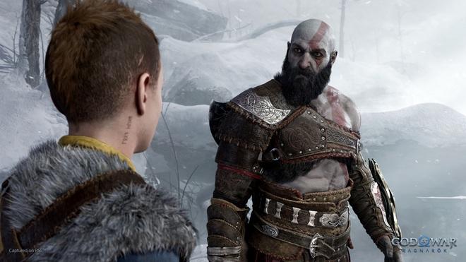 Sony công bố trailer đầu tiên giới thiệu lối chơi của God of War Ragnarök: chiến tranh sắp nhấn chìm Cửu Giới trong băng và lửa! - Ảnh 2.