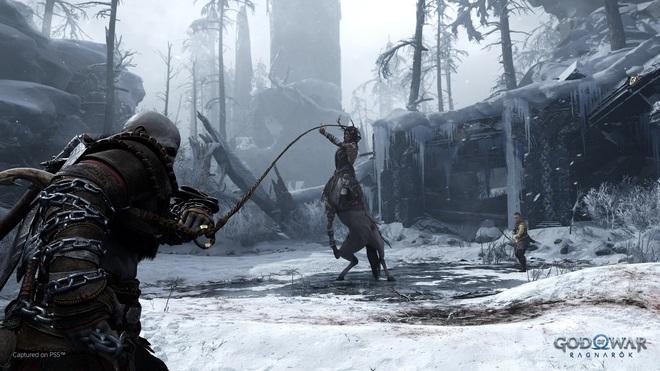 Sony công bố trailer đầu tiên giới thiệu lối chơi của God of War Ragnarök: chiến tranh sắp nhấn chìm Cửu Giới trong băng và lửa! - Ảnh 3.