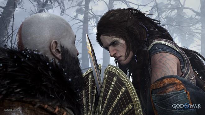 Sony công bố trailer đầu tiên giới thiệu lối chơi của God of War Ragnarök: chiến tranh sắp nhấn chìm Cửu Giới trong băng và lửa! - Ảnh 4.