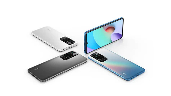 Xiaomi Redmi 10 chính thức ra mắt tại Việt Nam: MediaTek Helio G88, màn 90Hz, camera 50MP, giá khởi điểm 3,99 triệu đồng - Ảnh 1.