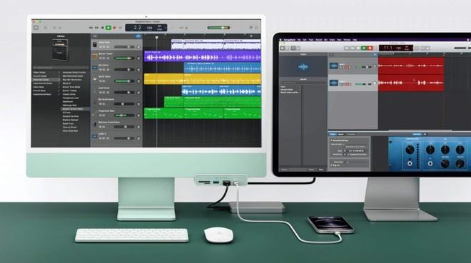 Bộ hub thú vị này sẽ cung cấp thêm các cổng kết nối tiện dụng tưởng chừng đã bị bỏ quên trên iMac 24 - Ảnh 4.