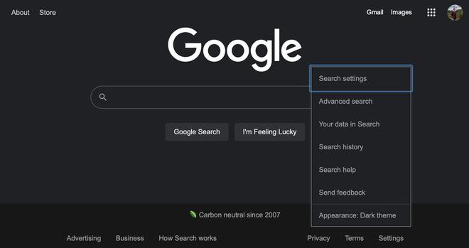 Google Search cuối cùng cũng có chế độ dark mode cho trình duyệt máy tính - Ảnh 2.