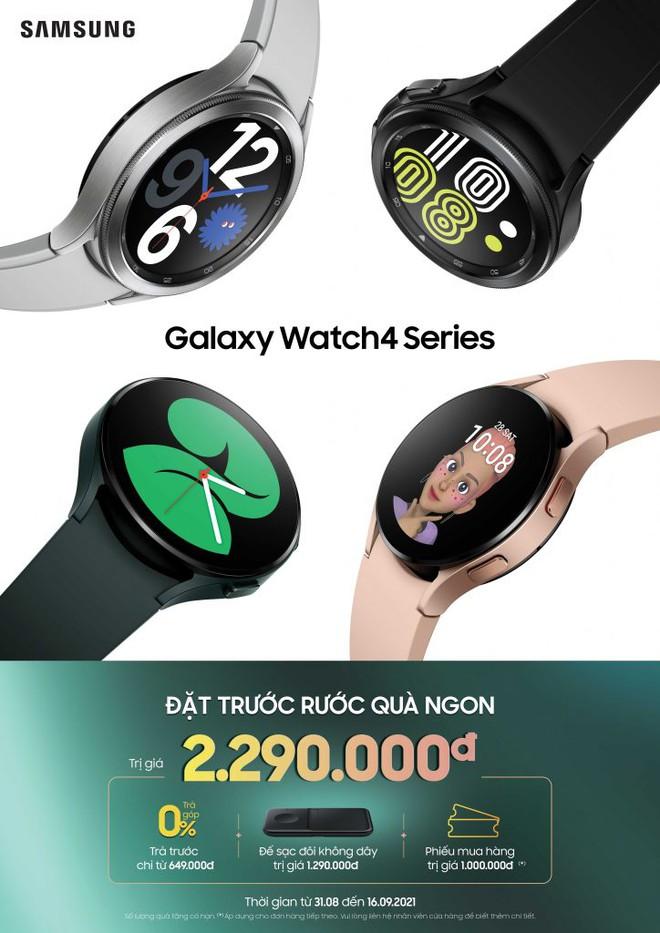 Samsung mở đặt trước Galaxy Watch4 series và Galaxy Buds2 - Ảnh 1.