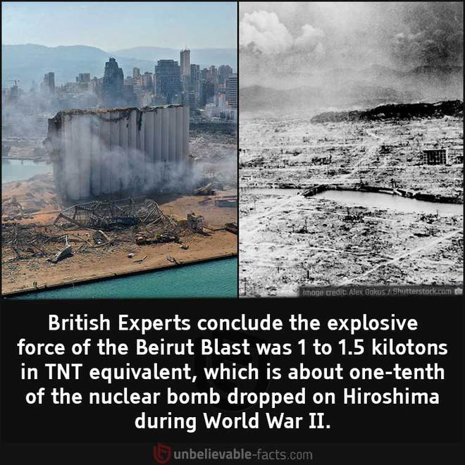 Những sự thật bất ngờ về Vụ nổ Beirut - Ảnh 1.