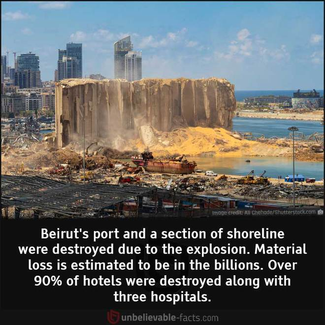 Những sự thật bất ngờ về Vụ nổ Beirut - Ảnh 5.
