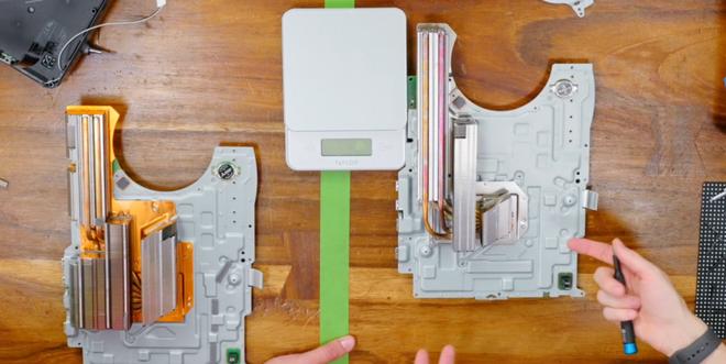 Thử nghiệm mới cho thấy bộ phận tản nhiệt nhỏ hơn, nhẹ hơn của PS5 lại giúp máy mát hơn - Ảnh 1.