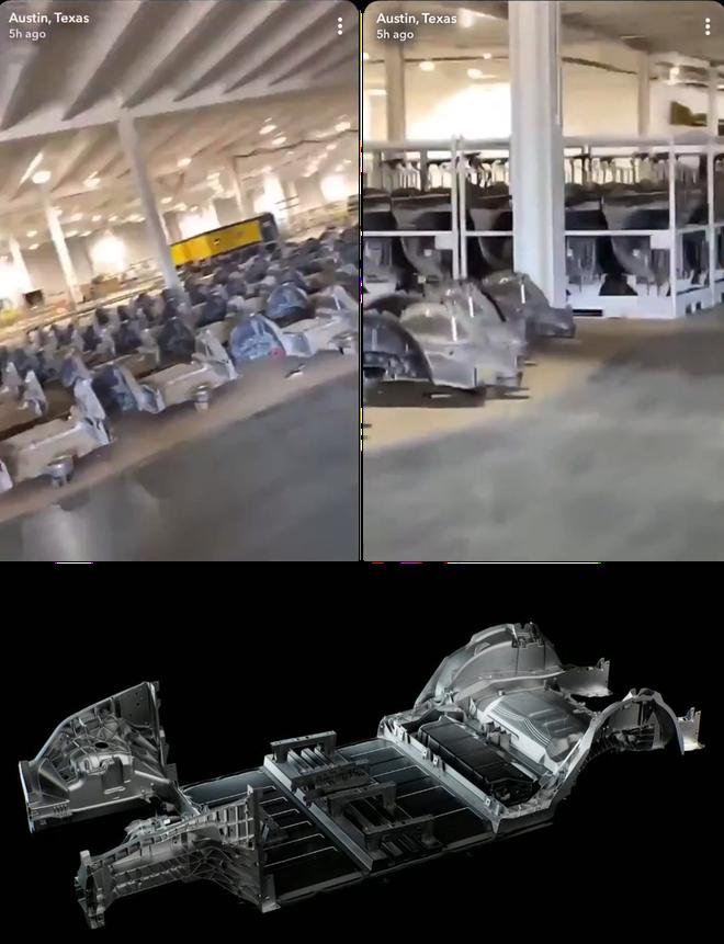 Rò rỉ clip trong nhà máy Tesla, cho thấy một cuộc cách mạng trong sản xuất ô tô đang bắt đầu - Ảnh 2.