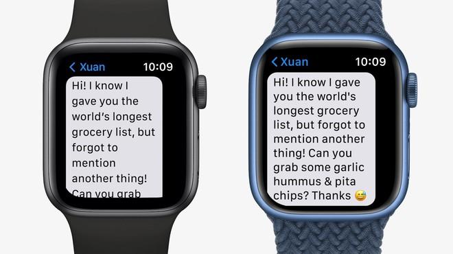 Apple Watch Series 7 chính thức ra mắt với màn hình lớn hơn bao giờ hết - Ảnh 4.