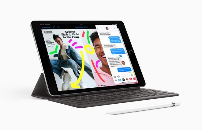 Apple ra mắt iPad giá rẻ mới: A13 Bionic, camera selfie góc siêu rộng, giá từ 329 USD - Ảnh 1.