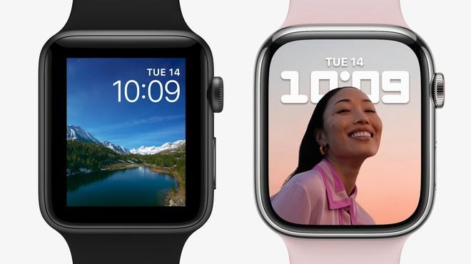 Apple Watch Series 7 chính thức ra mắt với màn hình lớn hơn bao giờ hết - Ảnh 1.