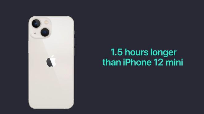 iPhone 13 và iPhone 13 mini chính thức: Tai thỏ gọn hơn, camera có chống rung cảm biến, Apple A15, giá từ 699 USD - Ảnh 14.