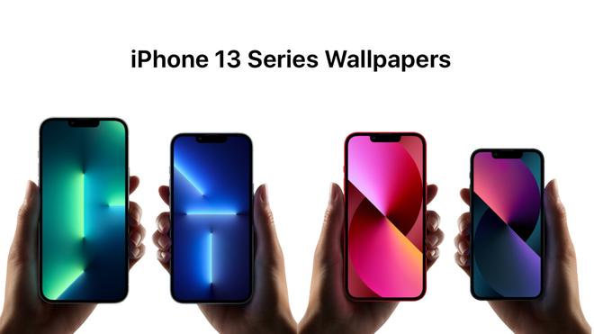 Mời tải về bộ hình nền cực đẹp của iPhone 13 vừa ra mắt - Ảnh 1.