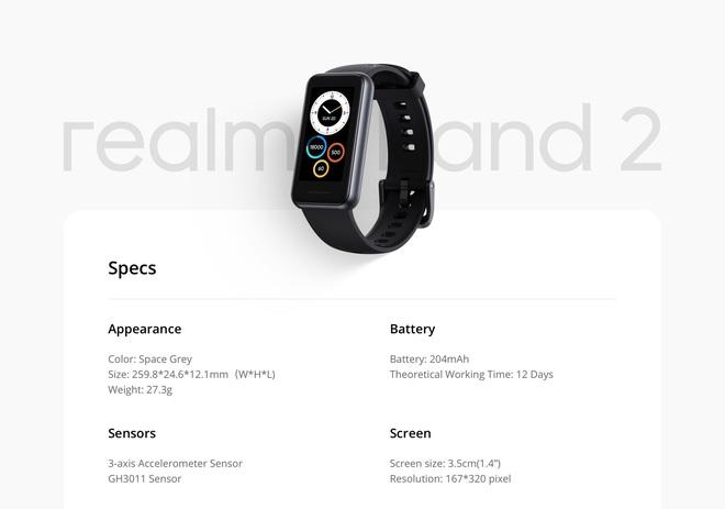 Realme Band 2 ra mắt với nhiều nâng cấp, giá gần 800,000 đồng - Ảnh 3.