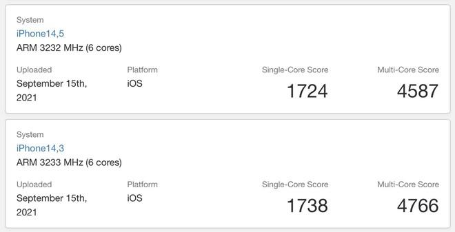 Chip A15 Bionic trên iPhone 13 đã có điểm benchmark - Ảnh 4.
