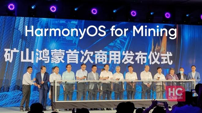 Huawei ra mắt Mine Harmony OS - hệ điều hành dành cho việc... khai thác mỏ than - Ảnh 1.