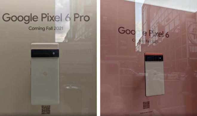 Google show hàng Pixel 6 và Pixel 6 Pro tại New York, chỉ cho ngắm, không cho chạm - Ảnh 1.