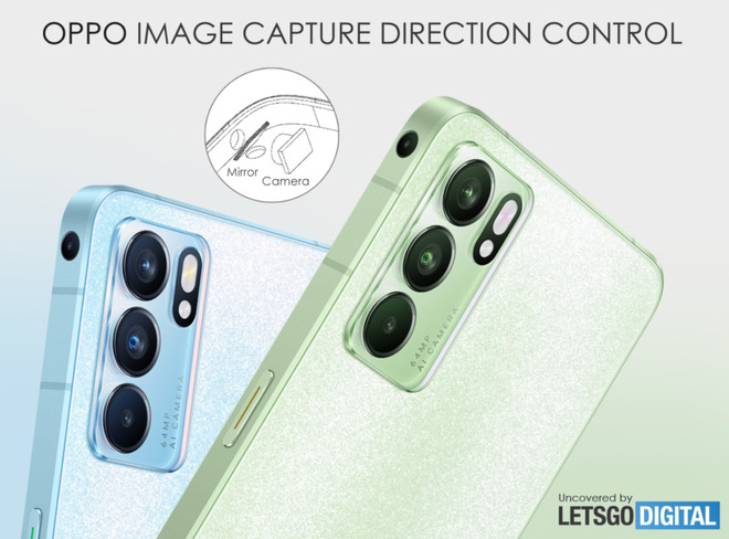 OPPO đăng ký bản quyền với smartphone có camera ở cạnh viền - Ảnh 2.