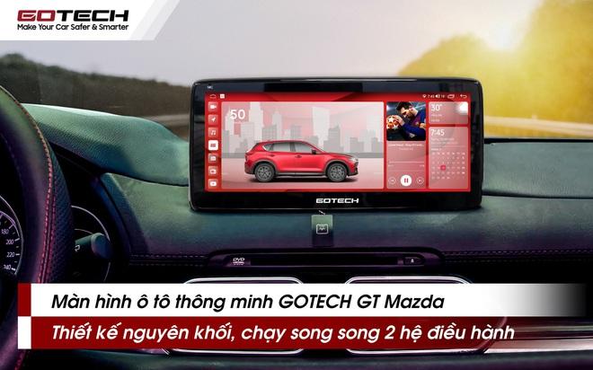 """GOTECH trình làng """"bom tấn"""" dành cho Mazda tích hợp AI với ngôn ngữ thiết kế Apple UI vạn người mê - Ảnh 1."""