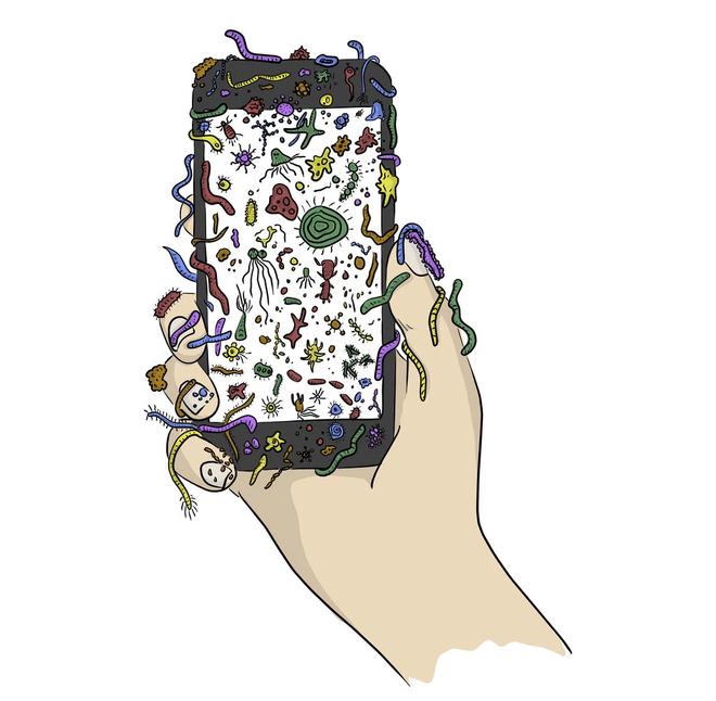 Điện thoại di động đã trở thành bàn tay thứ 3 của tất cả chúng ta, vậy nên khi rửa tay bạn hãy nhớ rửa cả chúng - Ảnh 3.