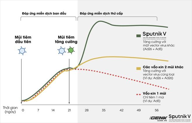 Vắc-xin Sputnik V: Công nghệ, độ an toàn và hiệu quả, khả năng chống biến thể Delta - Ảnh 4.