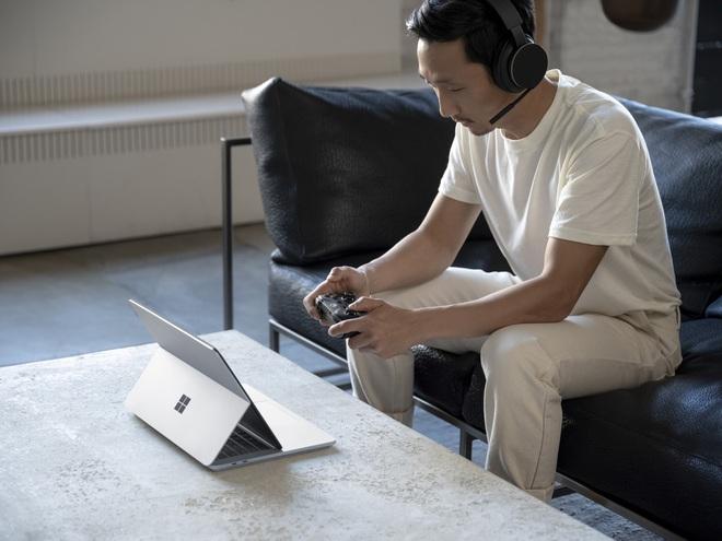 Microsoft ra mắt Surface Laptop Studio: Thiết kế biến hoá từ laptop sang tablet - Ảnh 2.