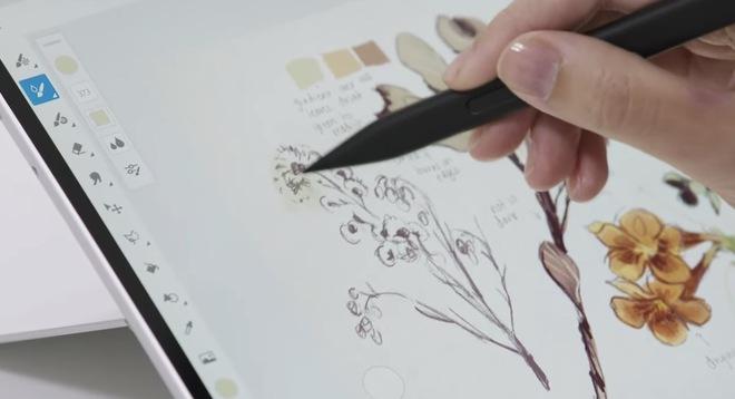 Microsoft ra mắt Surface Slim Pen 2 với chip G6, mang đến độ chính xác cực cao và cảm giác như bút thật - Ảnh 2.