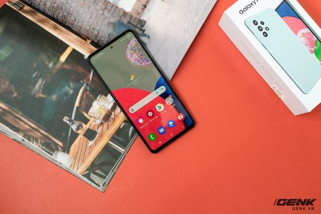 Trên tay Samsung Galaxy A52s 5G: Phiên bản nâng cấp nhẹ với vi xử lý mới - Ảnh 8.