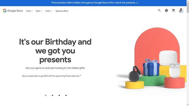 Pixel 6 chưa ra mắt, Google đã tung chương trình giảm giá - Ảnh 2.