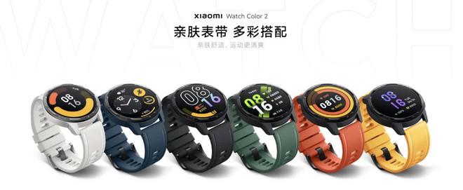 Xiaomi Watch Color 2 ra mắt: Thiết kế cổ điển, tích hợp GPS, pin 12 ngày, giá 3.5 triệu đồng - Ảnh 3.