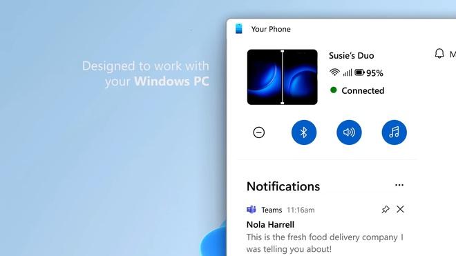 Windows 11 cho người dùng thêm một lý do để chọn Android thay vì iOS - Ảnh 2.
